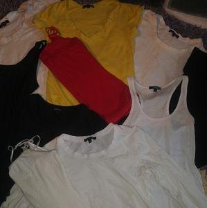 BOGO💞lot of 10 different basic shirts